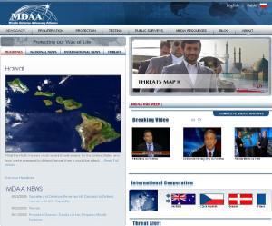 main website screen capture