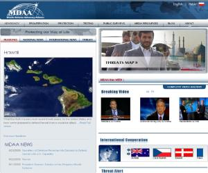 main website screen capture